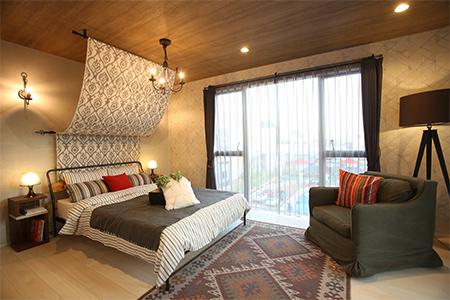 広々主寝室