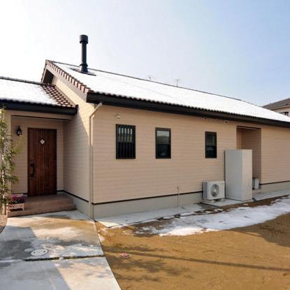 保温性がとても良く、暖かいお家