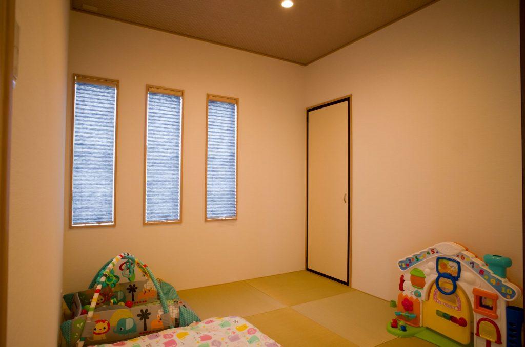 子どもの遊ぶ部屋としての和室