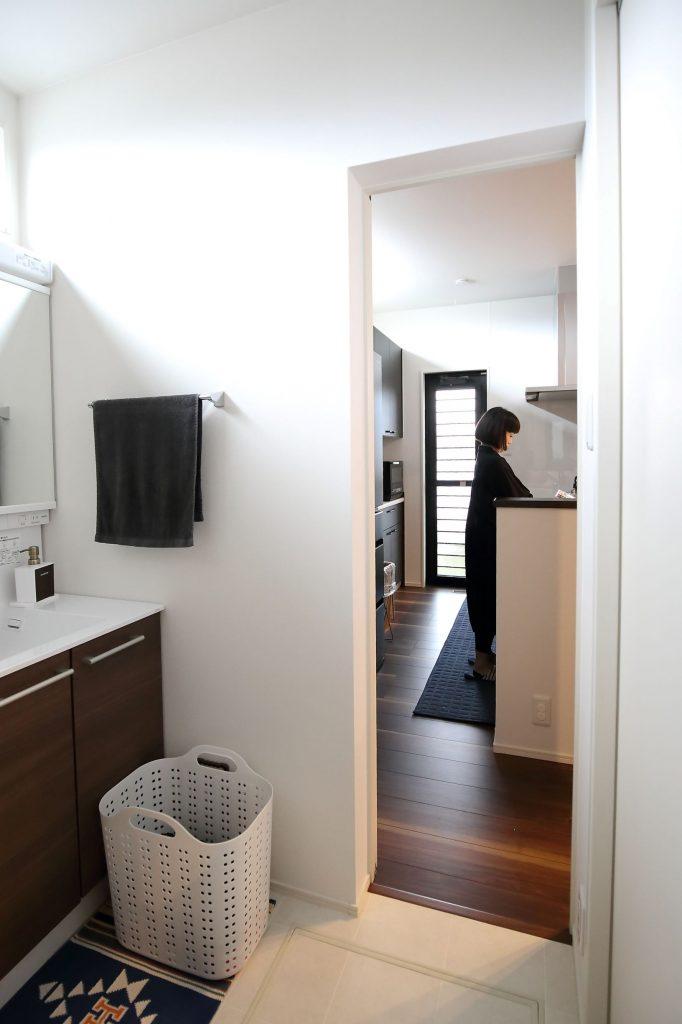 便利なキッチン・洗面室・浴室